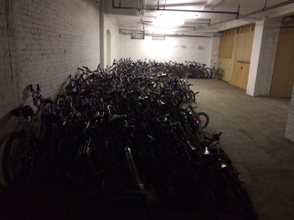 City Center Self Storage Pittsburgh Bicycle Collection